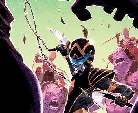 PowerRangers_007_Cover_D_Variant ComicList Previews: POWER RANGERS #7