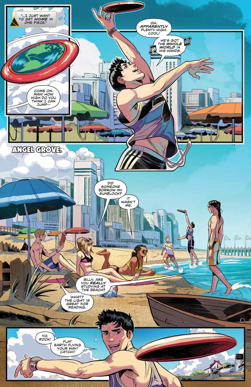PowerRangers_v1_SC_PRESS_11 ComicList Previews: POWER RANGERS VOLUME 1 TP