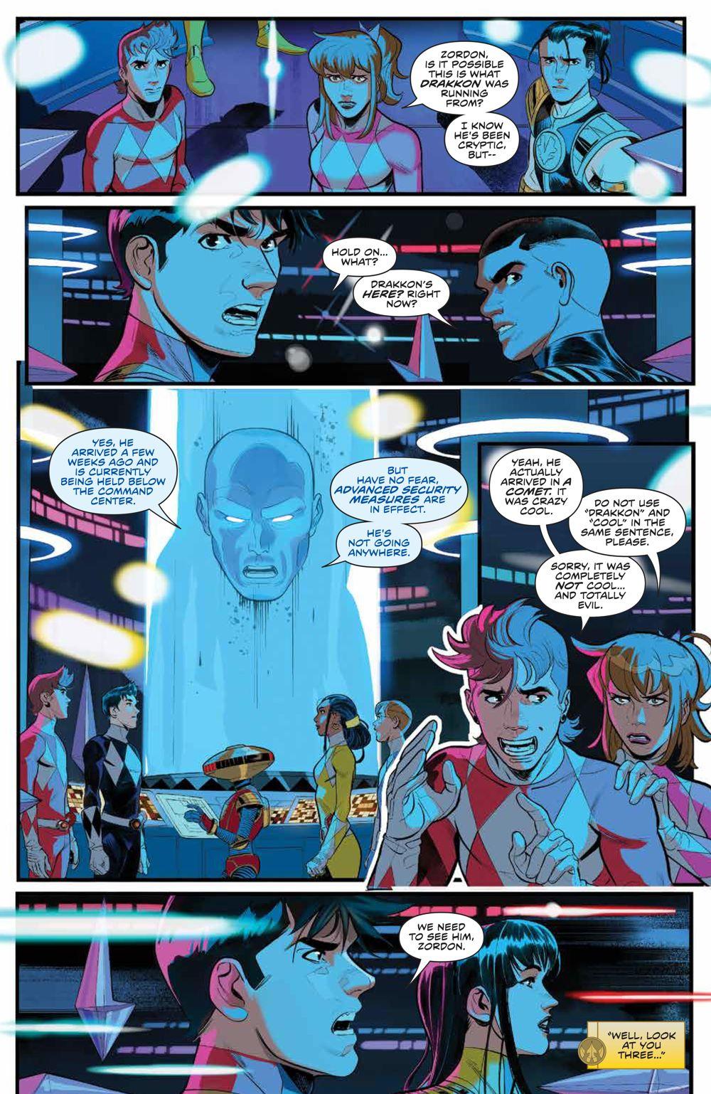 PowerRangers_v1_SC_PRESS_14 ComicList Previews: POWER RANGERS VOLUME 1 TP