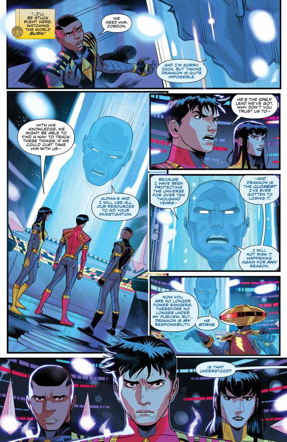 PowerRangers_v1_SC_PRESS_17 ComicList Previews: POWER RANGERS VOLUME 1 TP
