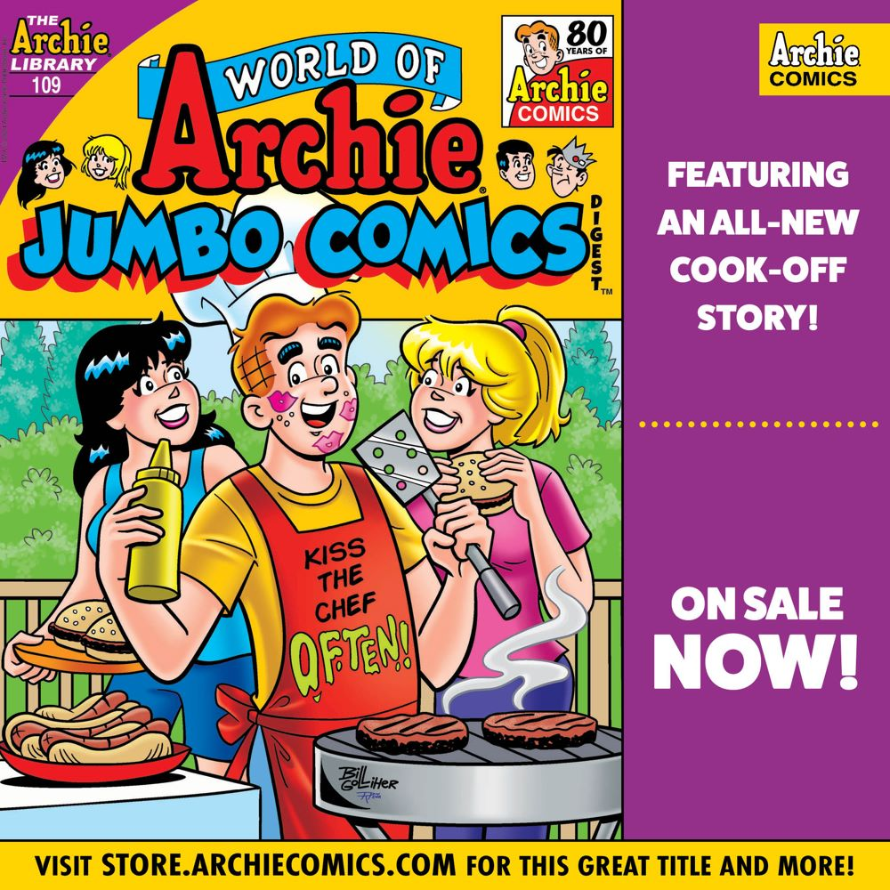 Preorder_Graphic_MAY_2021_02_OSN ComicList Previews: WORLD OF ARCHIE JUMBO COMICS DIGEST #109