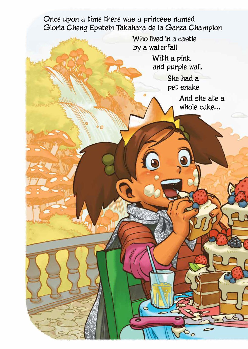 PrincessWhoSavedHerself_HC_PRESS_8 ComicList Previews: THE PRINCESS WHO SAVED HERSELF HC