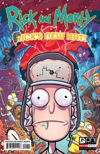RM-RNH-1-MARKETING-01-195x300 ComicList Previews: RICK AND MORTY RICK'S NEW HAT #1