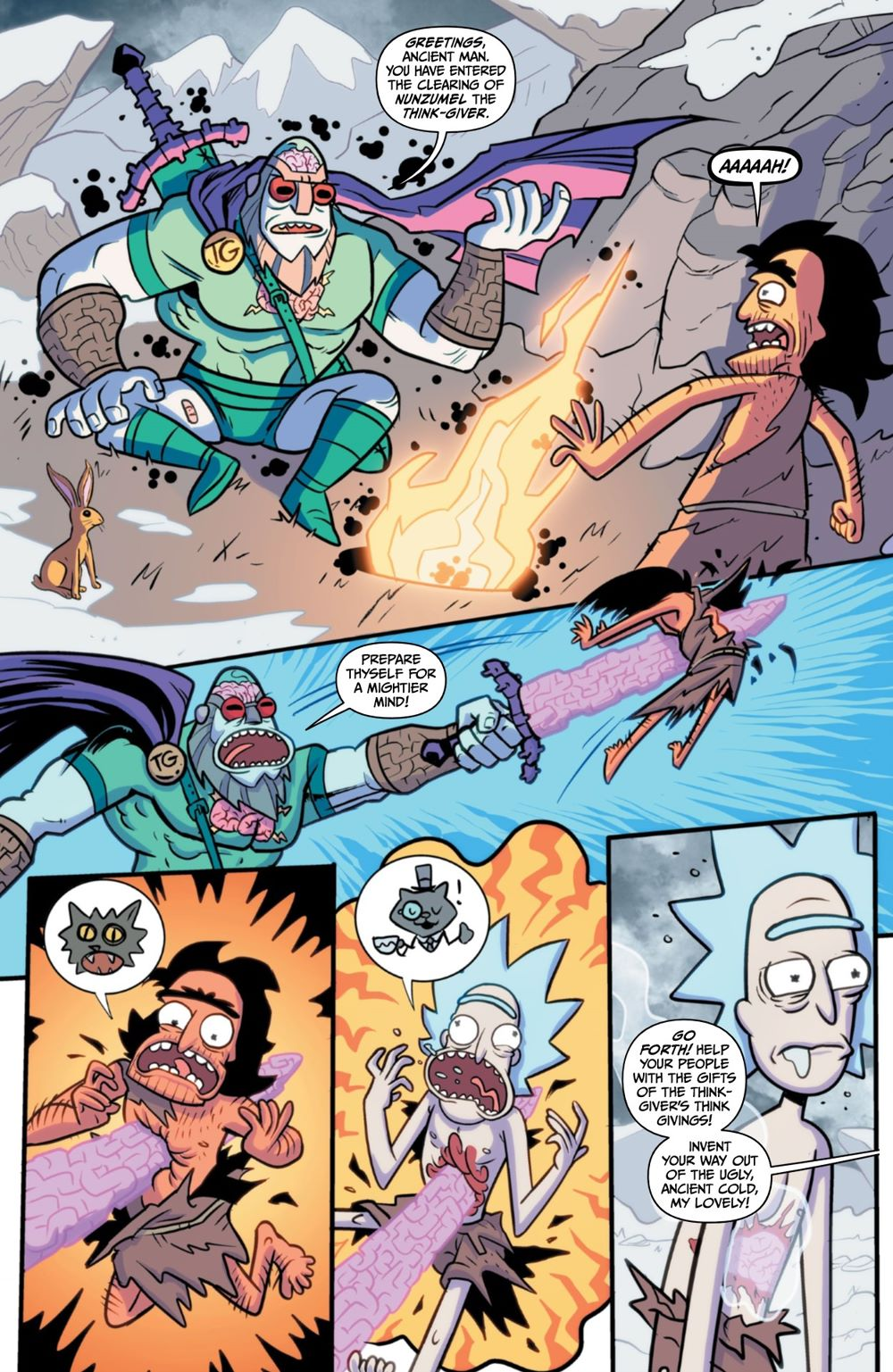 RM-RNH-1-MARKETING-08 ComicList Previews: RICK AND MORTY RICK'S NEW HAT #1
