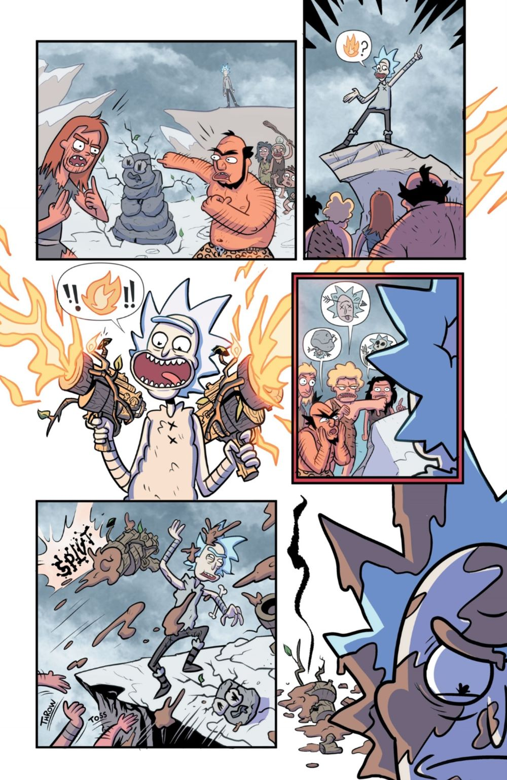 RM-RNH-1-MARKETING-09 ComicList Previews: RICK AND MORTY RICK'S NEW HAT #1