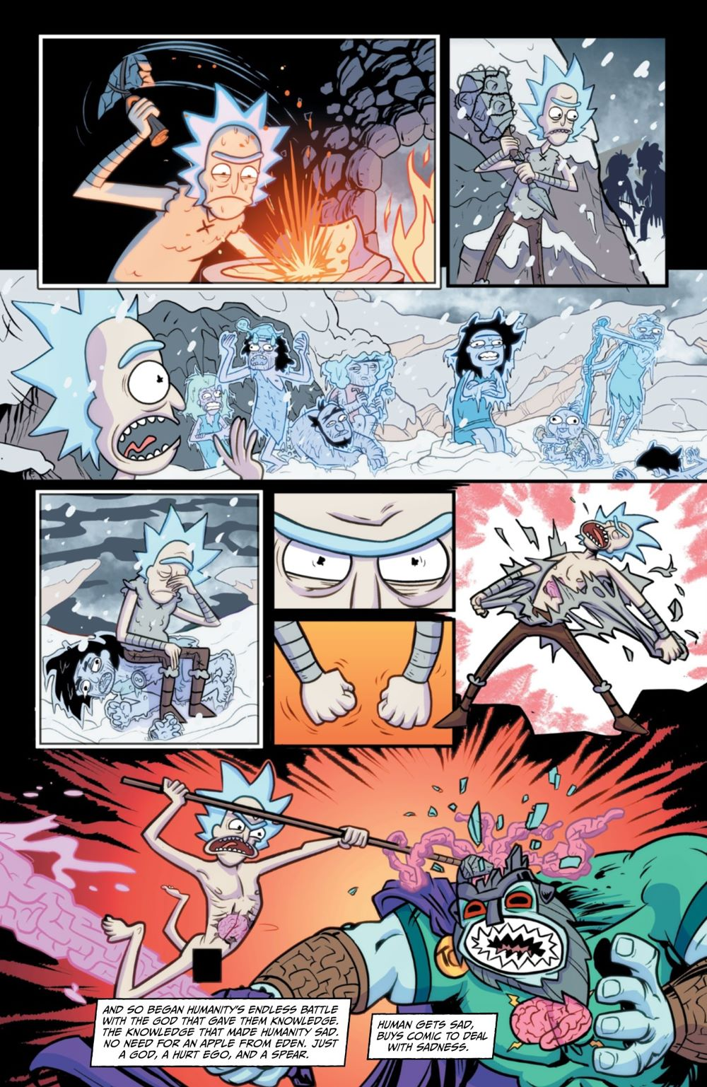 RM-RNH-1-MARKETING-10 ComicList Previews: RICK AND MORTY RICK'S NEW HAT #1