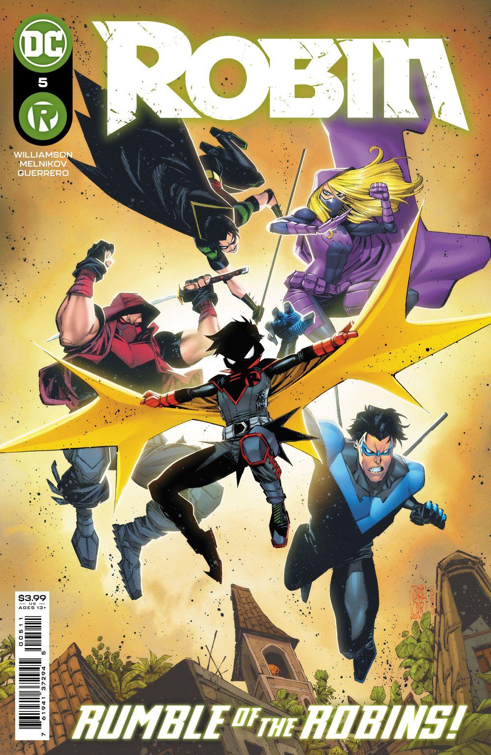 ROBIN_Cv5 DC Comics August 2021 Solicitations