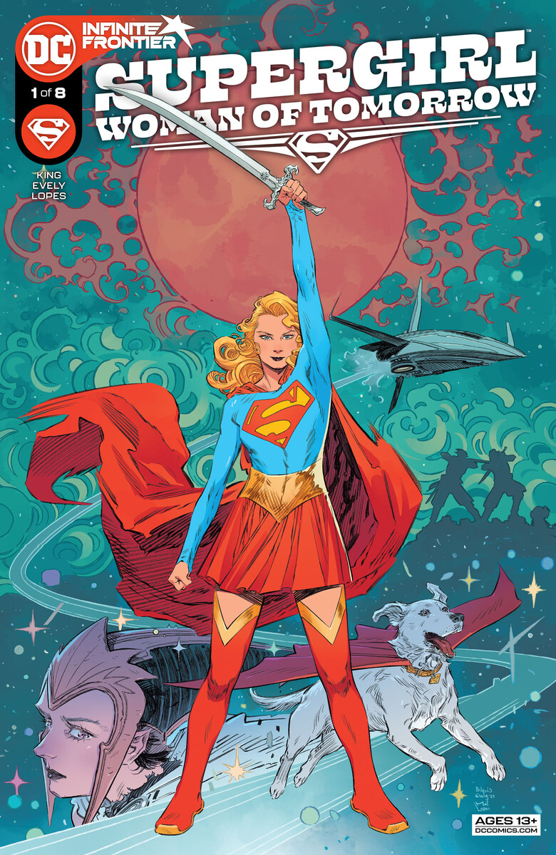 SG_WOT_Cv1_609d563293a834.62642817 First Look at SUPERGIRL: WOMAN OF TOMORROW #1 from DC Comics