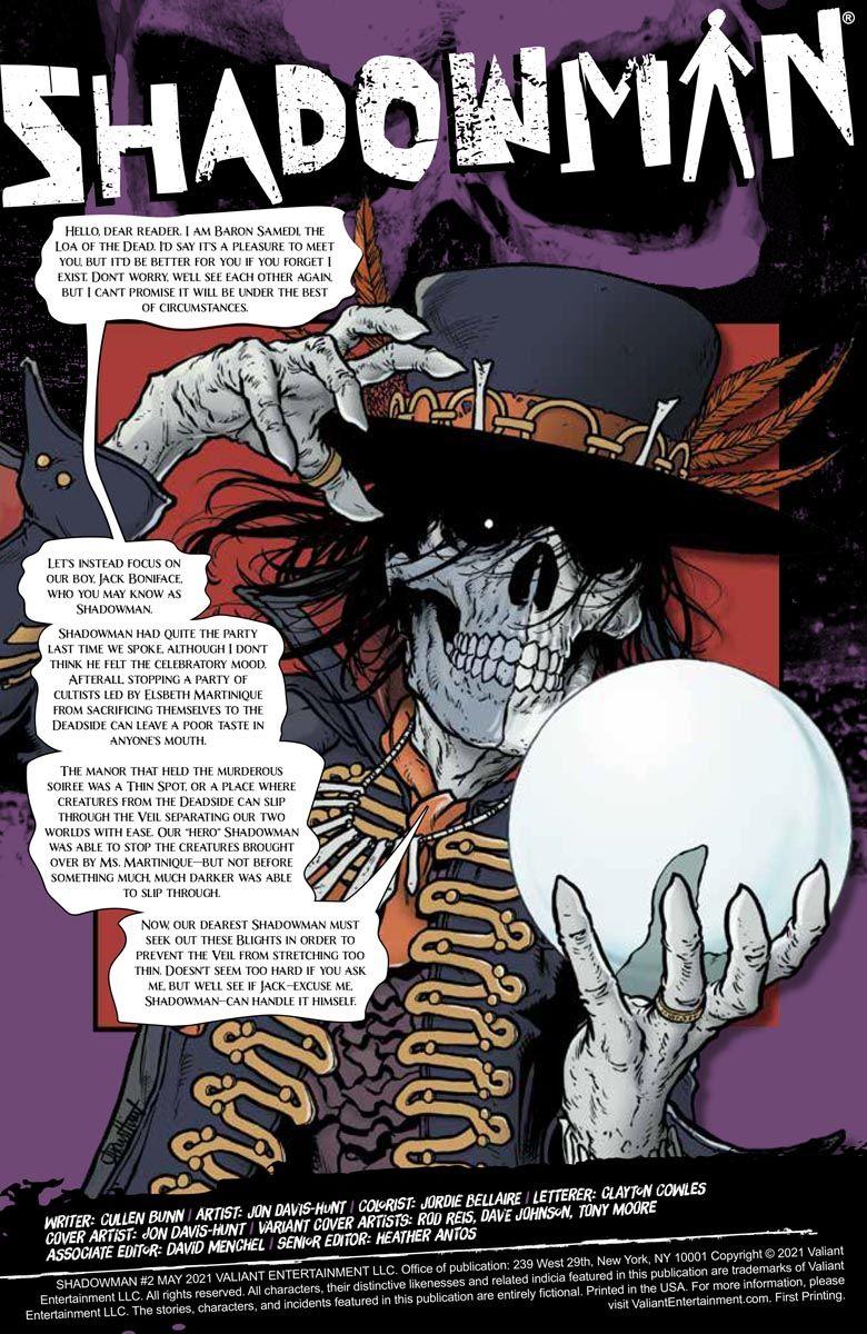 SHADOWMAN_02_PREVIEW_01 ComicList Previews: SHADOWMAN #2