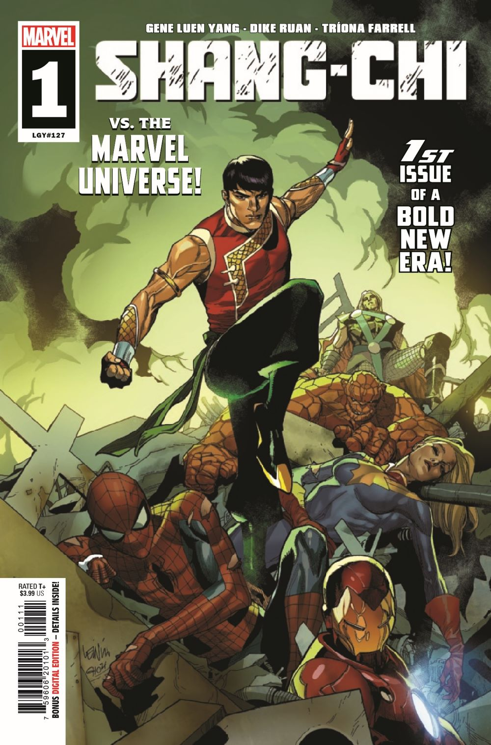 SHANGCHI2021001_Preview-1 ComicList Previews: SHANG-CHI #1