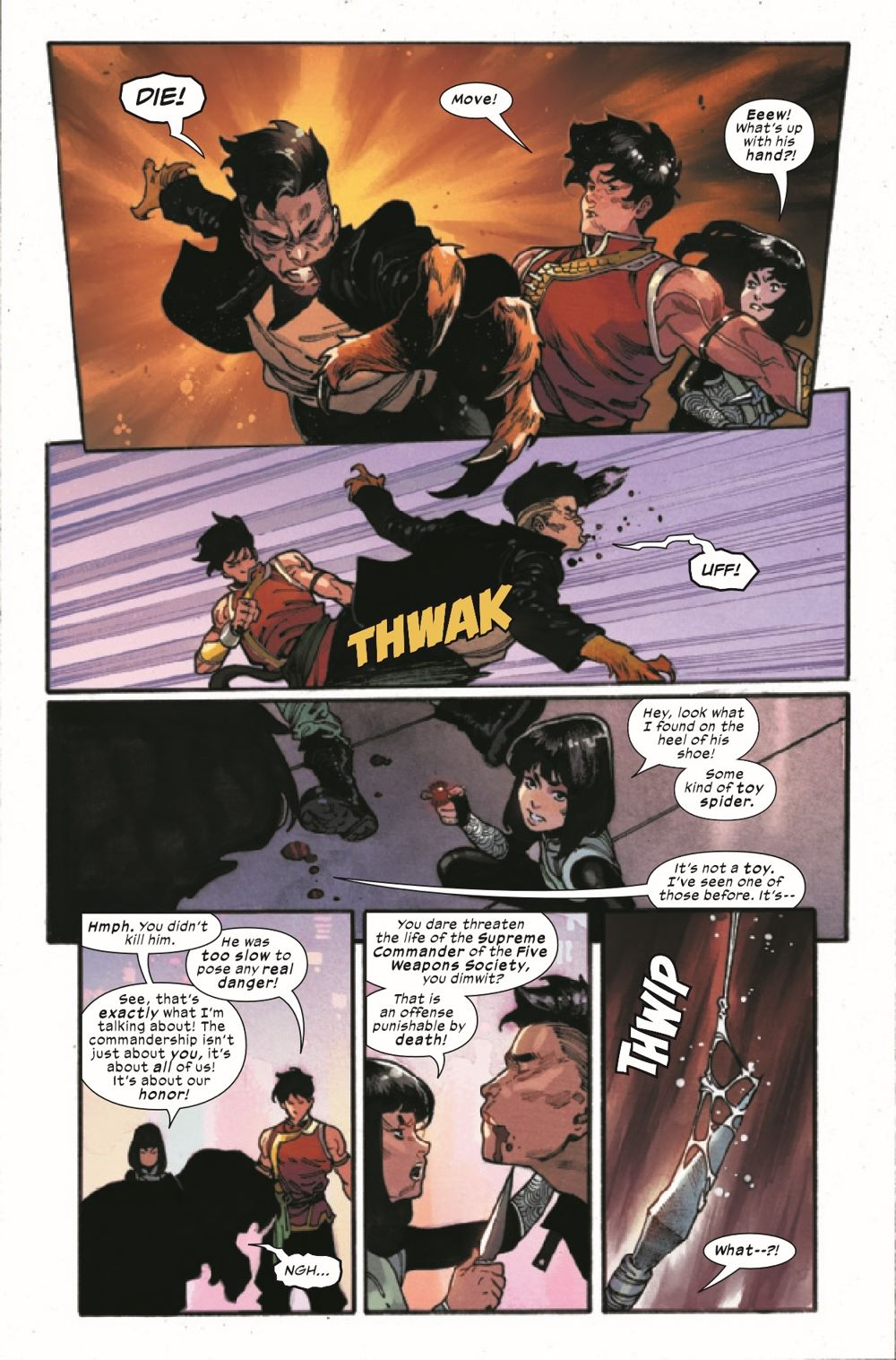 SHANGCHI2021001_Preview-4 ComicList Previews: SHANG-CHI #1