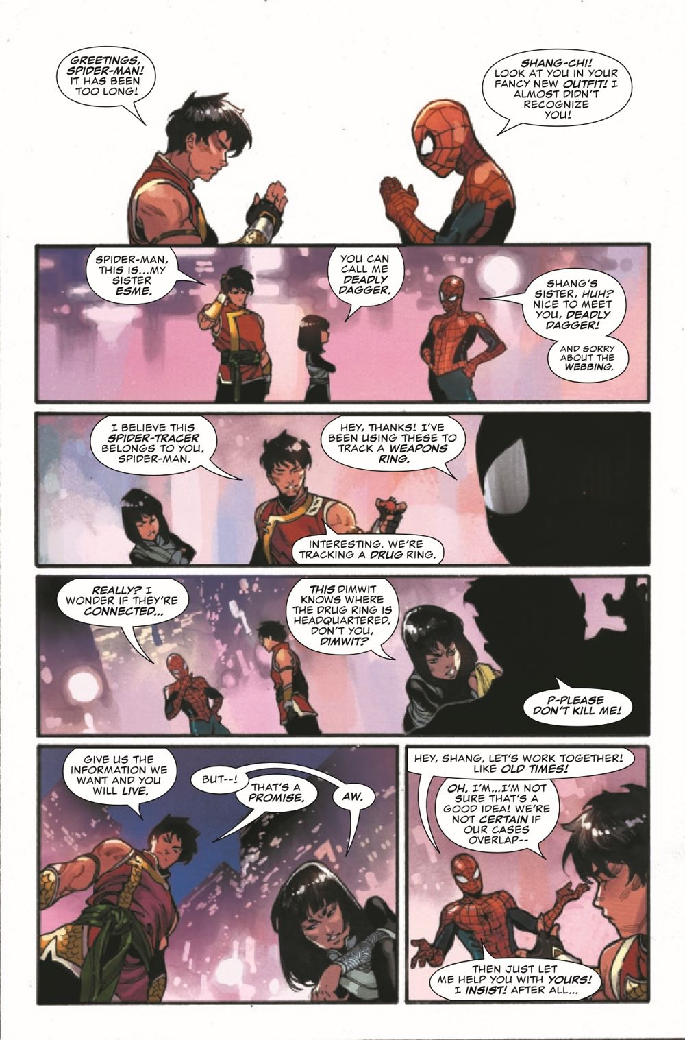 SHANGCHI2021001_Preview-6 ComicList Previews: SHANG-CHI #1