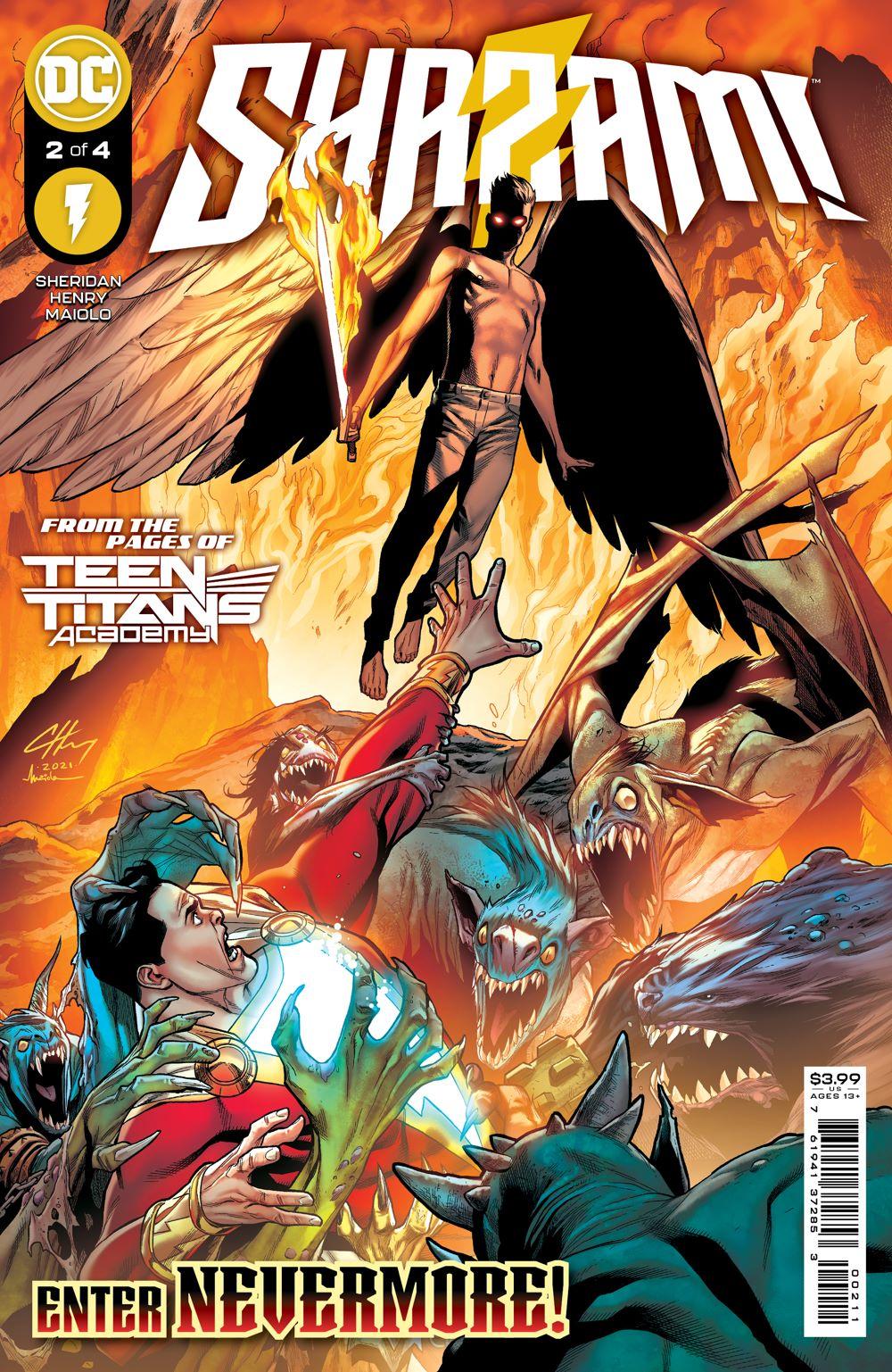 SHAZAM_Cv2 DC Comics August 2021 Solicitations
