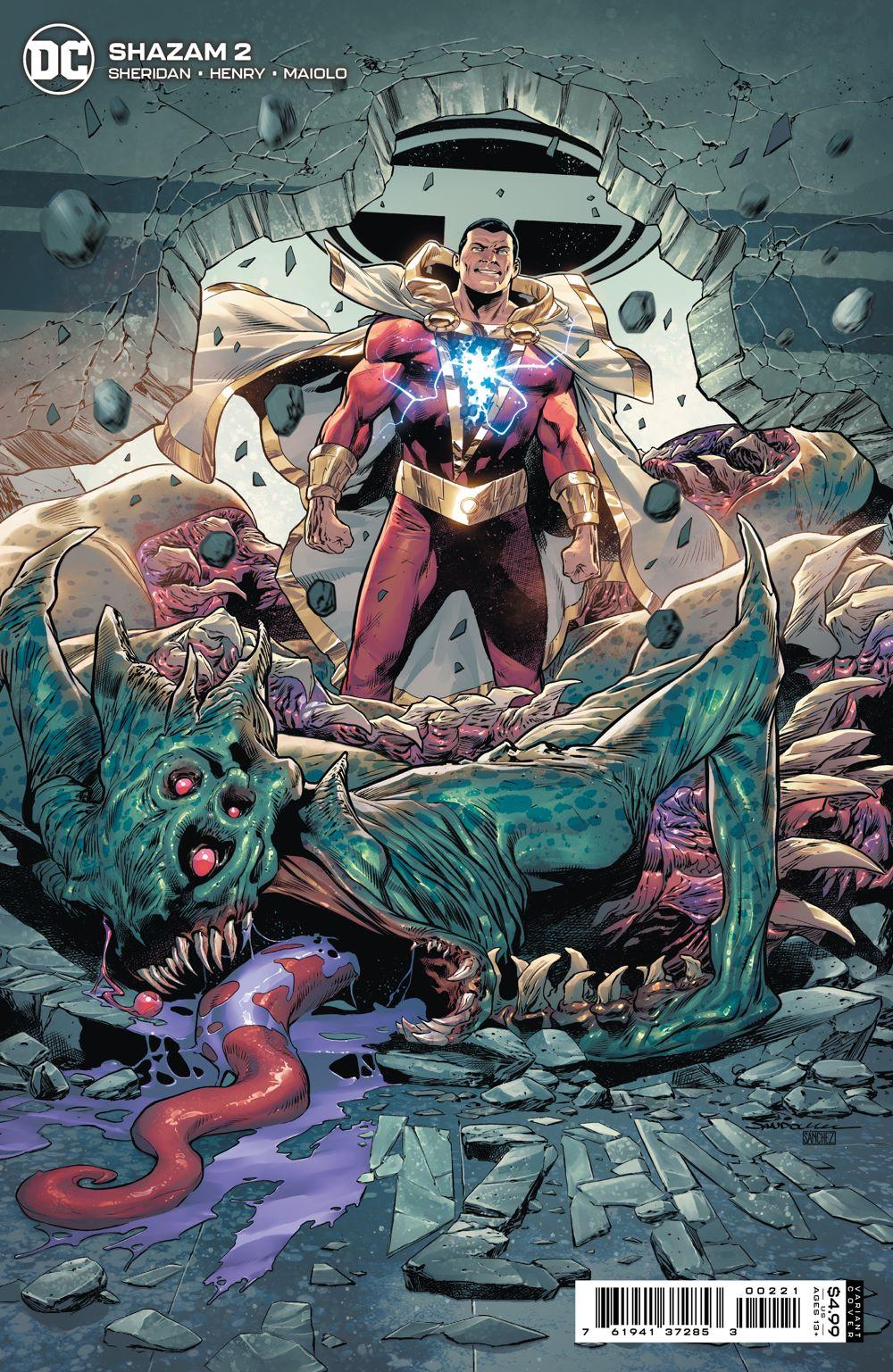SHAZAM_Cv2_var_00221 DC Comics August 2021 Solicitations