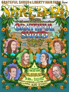 SHRED420-225x300 Inside the Grateful Shred Poster Vault