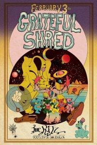 SHREDBYRD-200x300 Inside the Grateful Shred Poster Vault