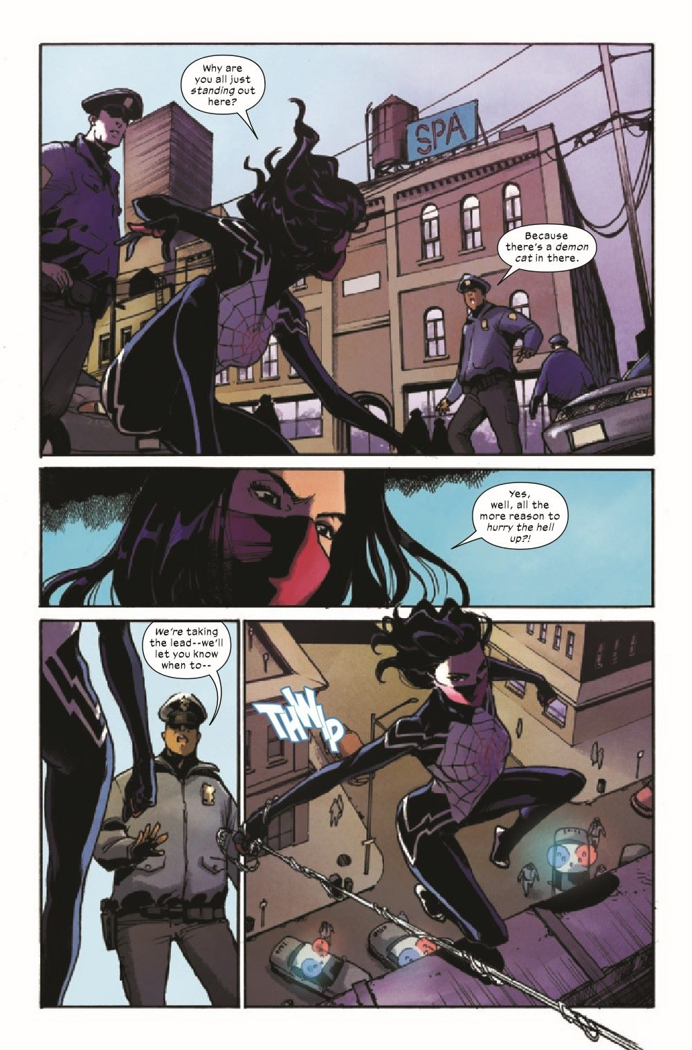 SILK2021003_Preview-3 ComicList Previews: SILK #3 (OF 5)