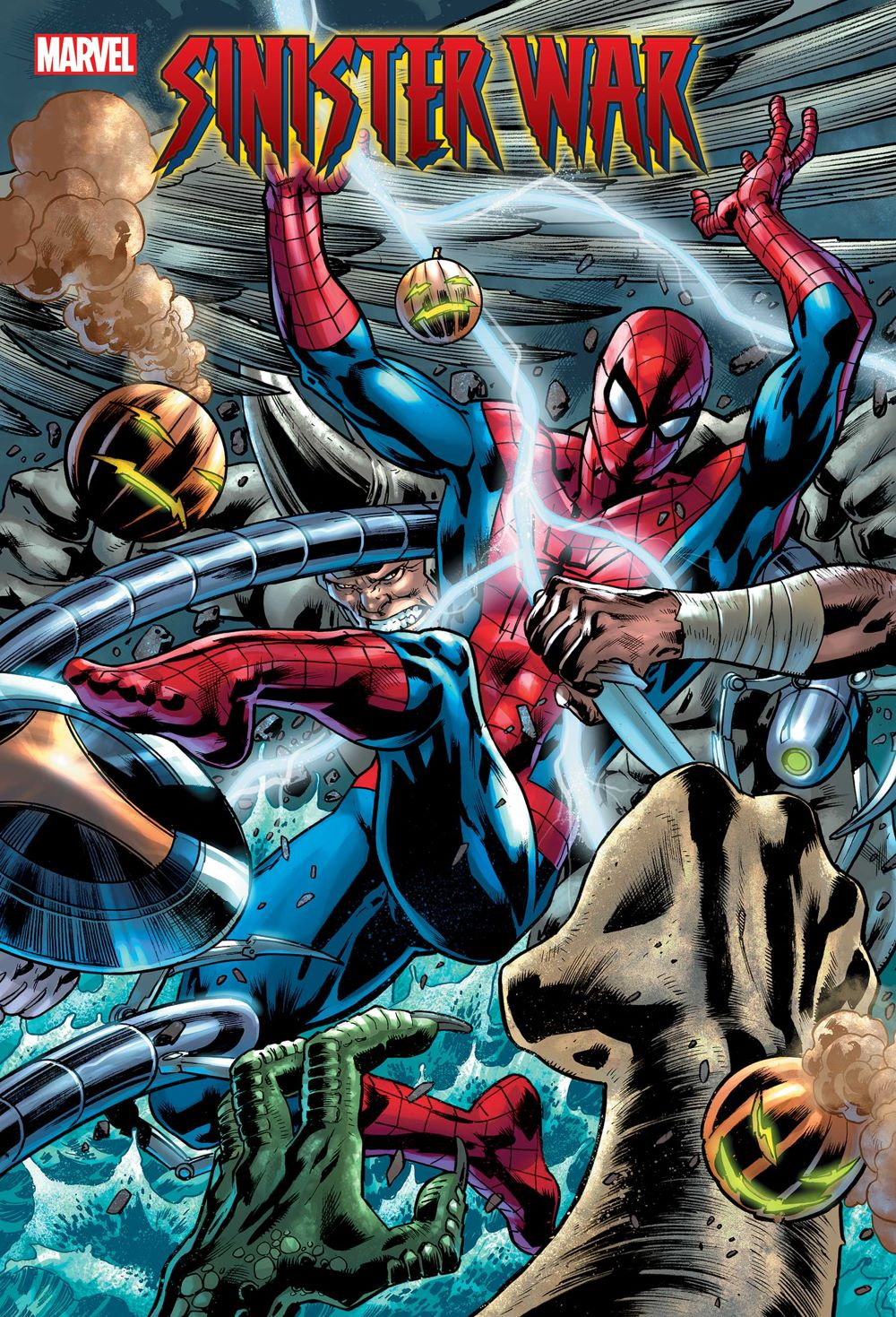 SINWAR2021003cov Marvel Comics August 2021 Solicitations