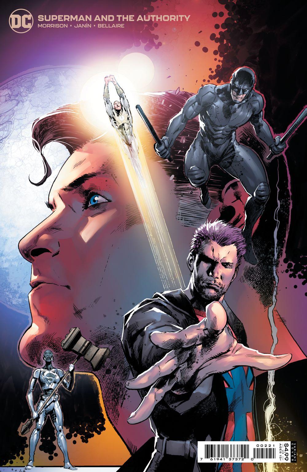 SMATA_Cv2_var_00221 DC Comics August 2021 Solicitations