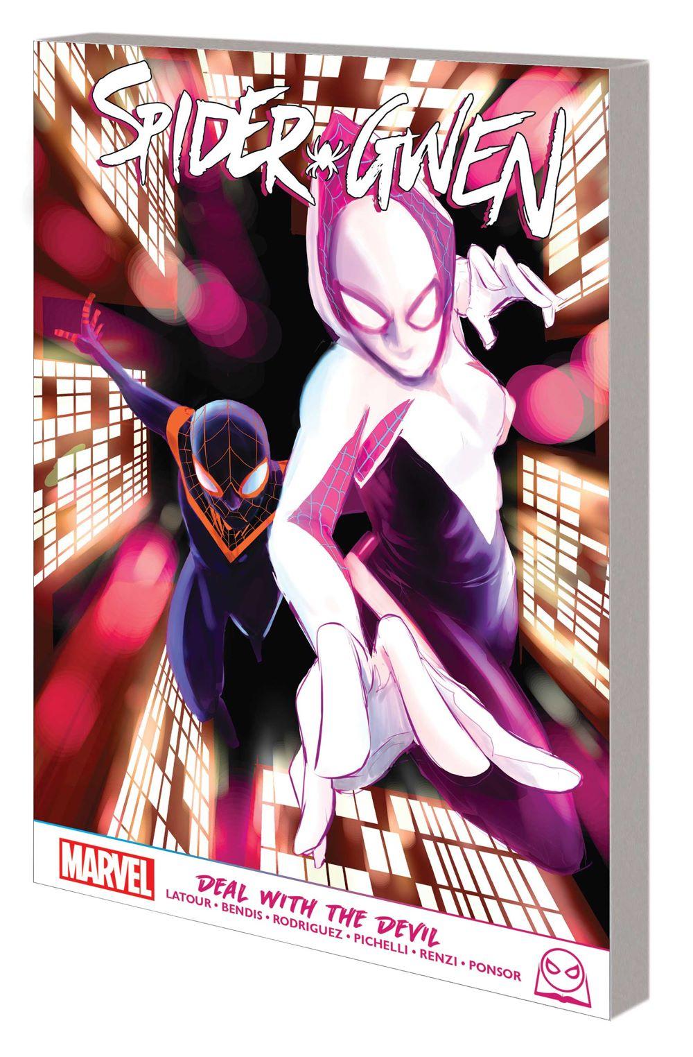 SPGWEN_DWTD_GN_TPB Marvel Comics August 2021 Solicitations