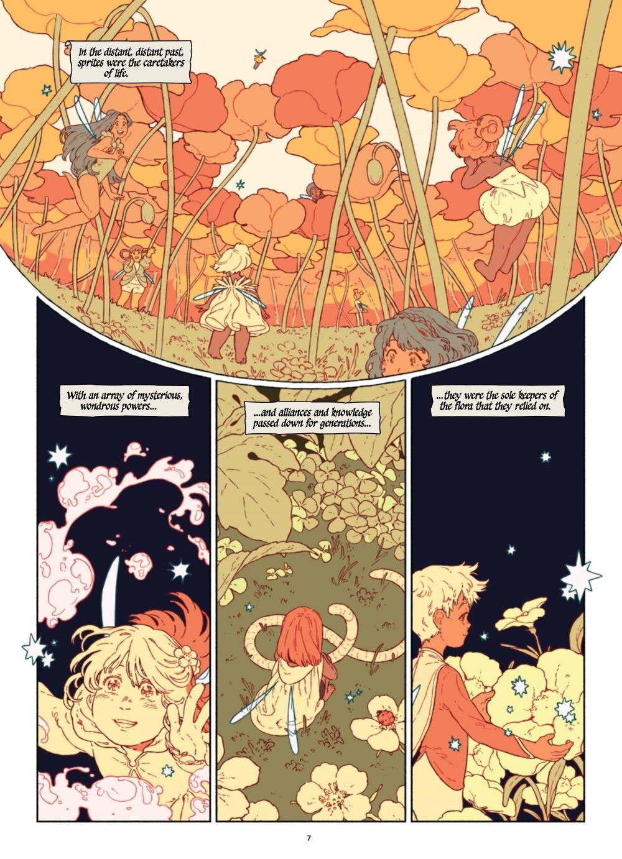 SPRITEG-MARKETING-08 ComicList Previews: THE SPRITE AND THE GARDENER HC
