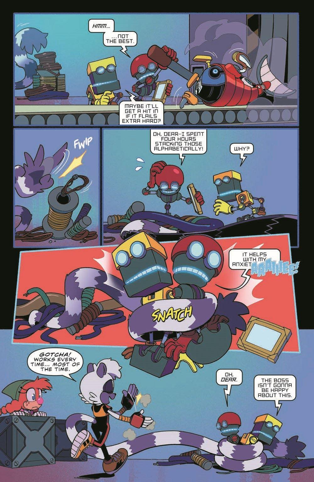 STH39_pr-5 ComicList Previews: SONIC THE HEDGEHOG #39