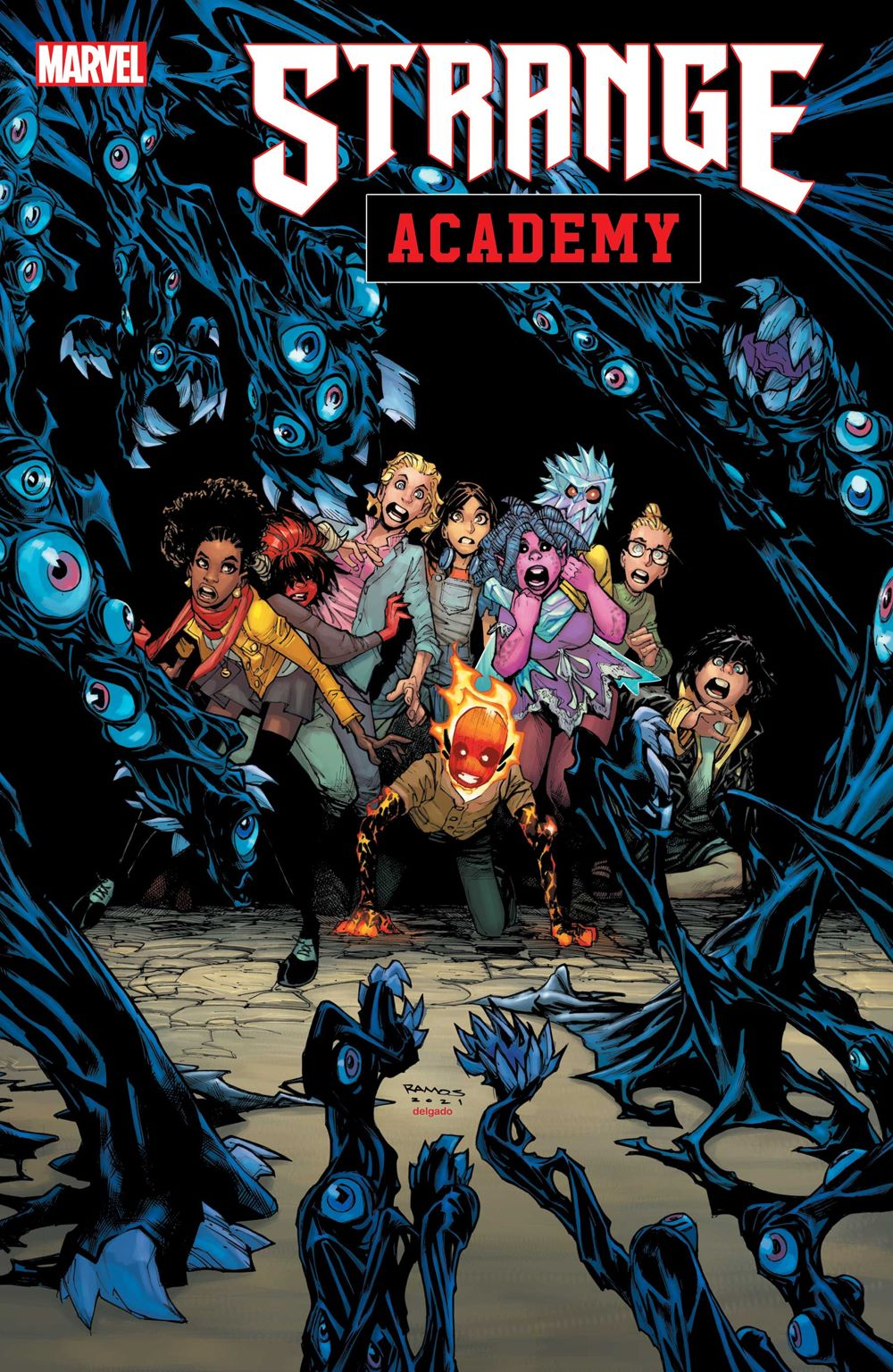 STRACADEMY2020012_cov Marvel Comics August 2021 Solicitations