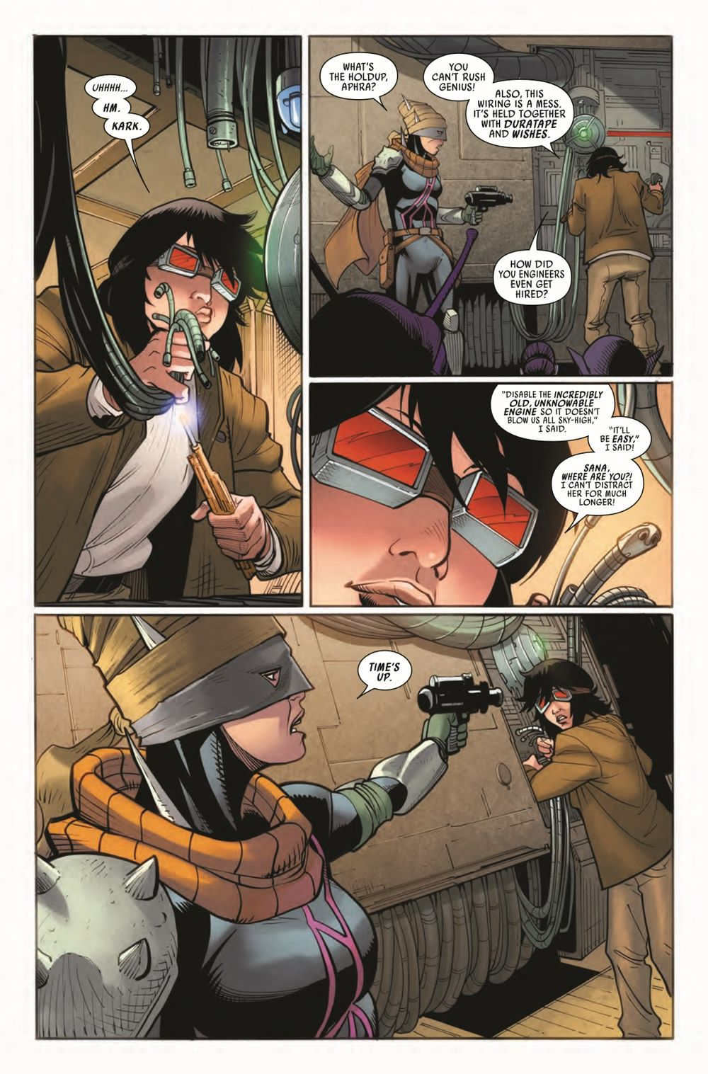 STWAPHRA2020010_Preview-6 ComicList Previews: STAR WARS DOCTOR APHRA #10