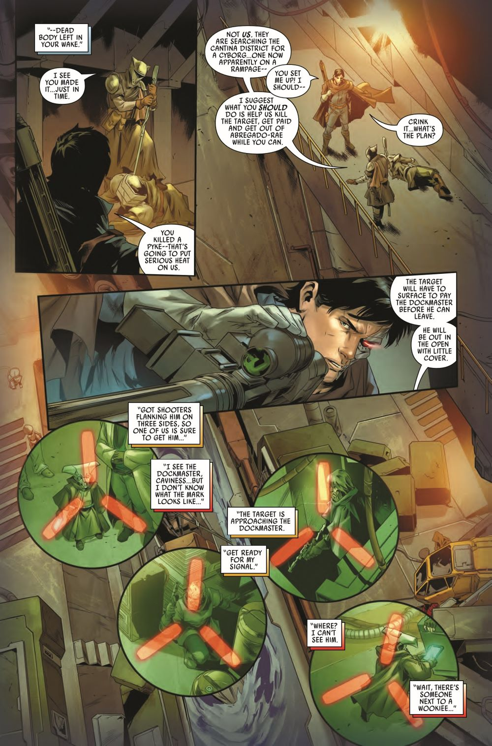 STWBOUNTYHUNT2020012_Preview-5 ComicList Previews: STAR WARS BOUNTY HUNTERS #12