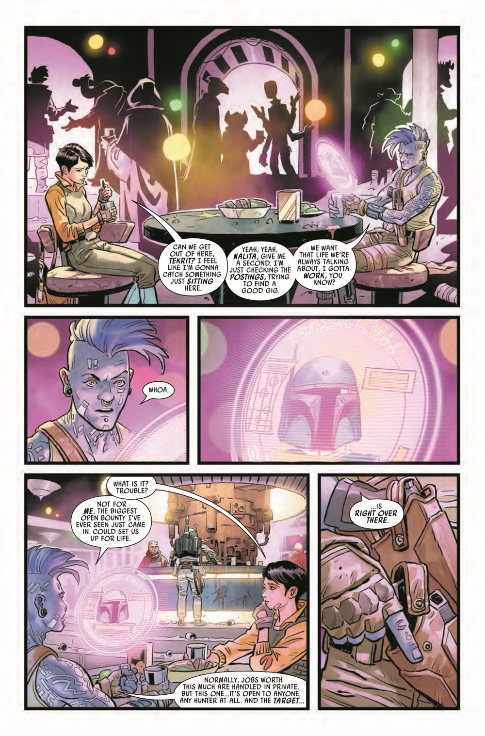 STWWAROTBH2021001_Preview-4 ComicList Previews: STAR WARS WAR OF THE BOUNTY HUNTERS #1 (OF 5)