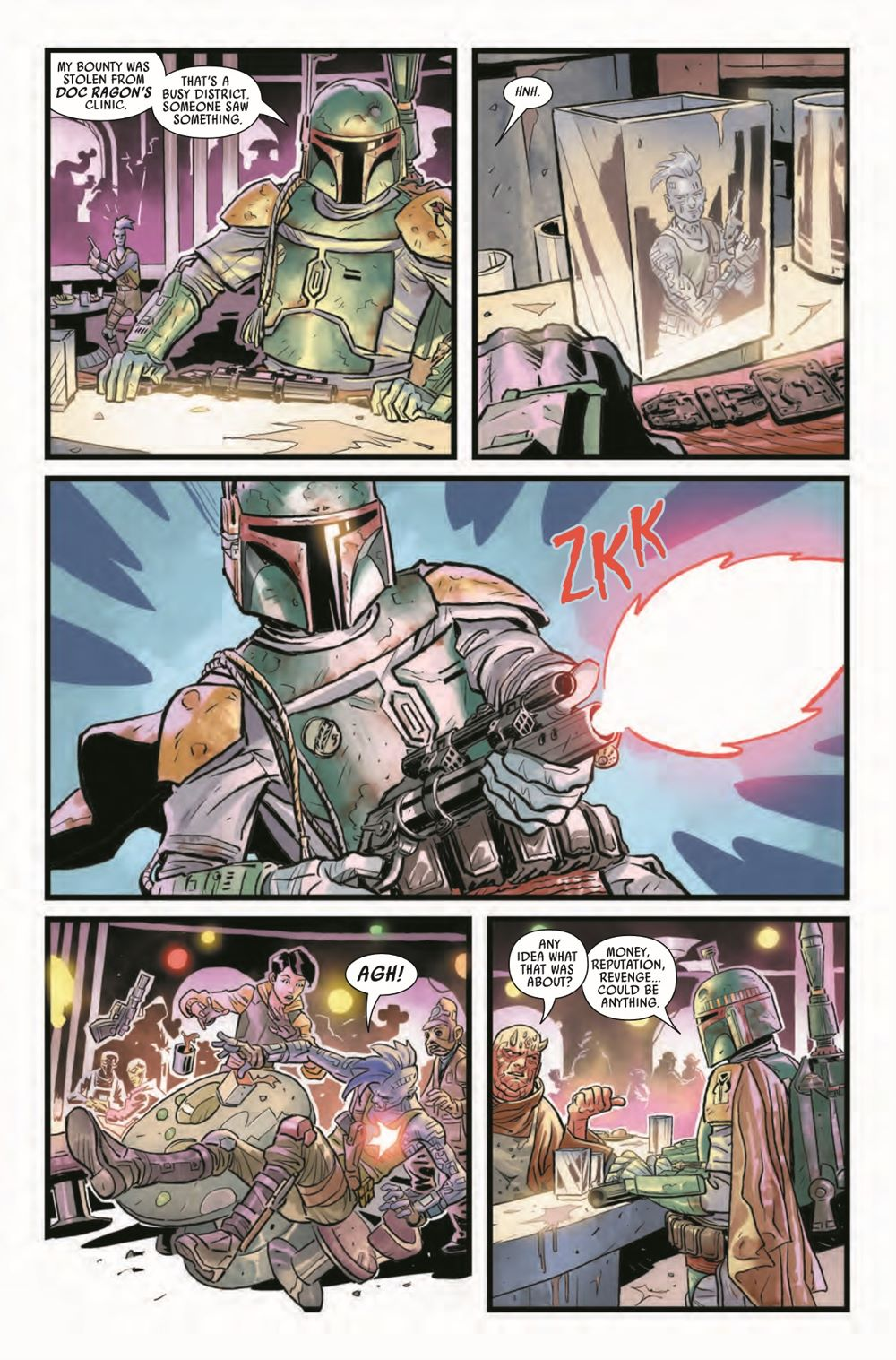 STWWAROTBH2021001_Preview-5 ComicList Previews: STAR WARS WAR OF THE BOUNTY HUNTERS #1 (OF 5)