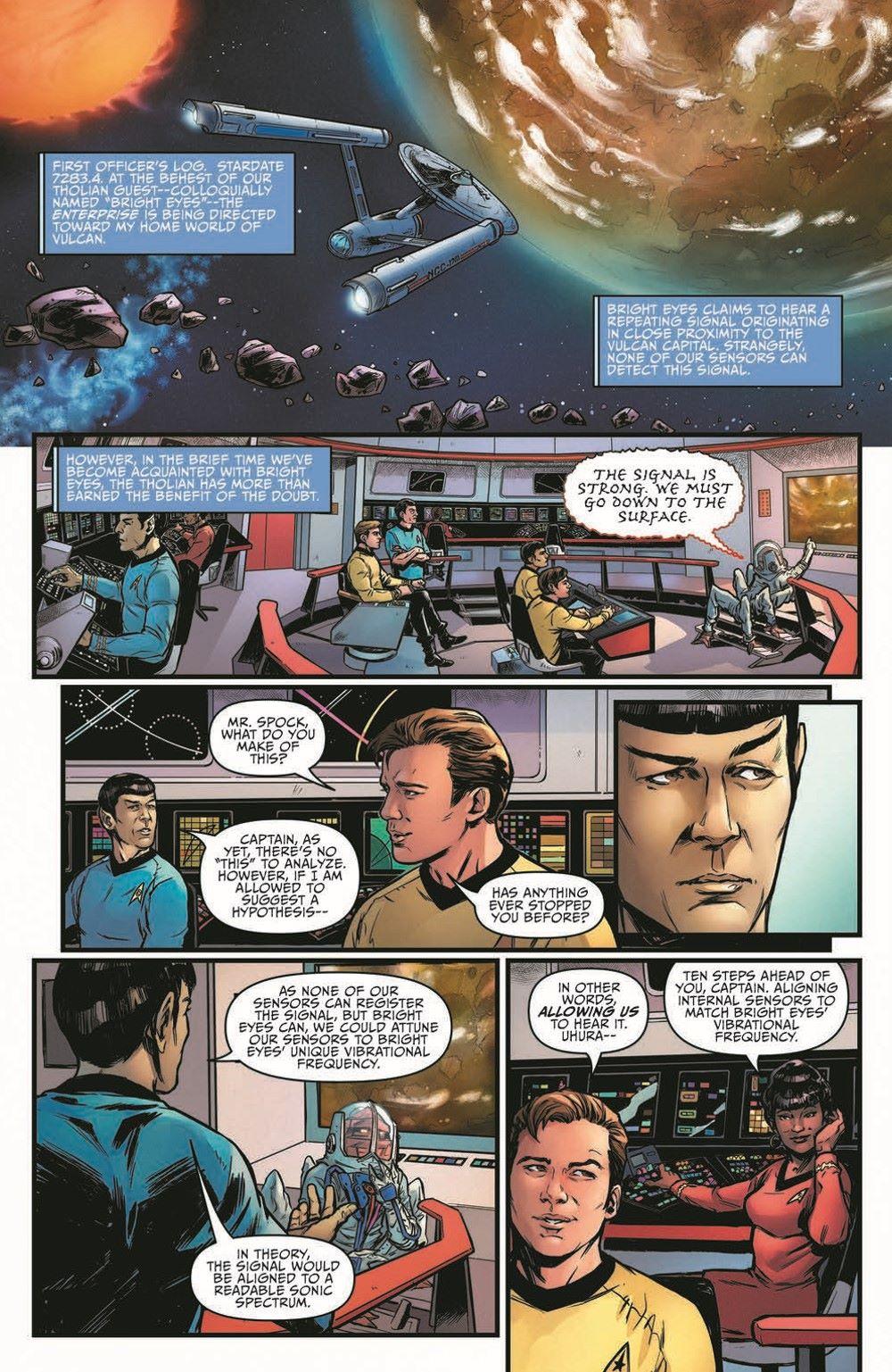 ST_YearFive20-pr-3 ComicList Previews: STAR TREK YEAR FIVE #20