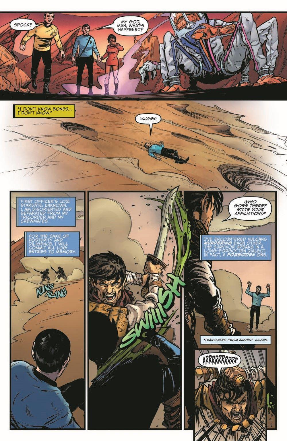ST_YearFive20-pr-6 ComicList Previews: STAR TREK YEAR FIVE #20