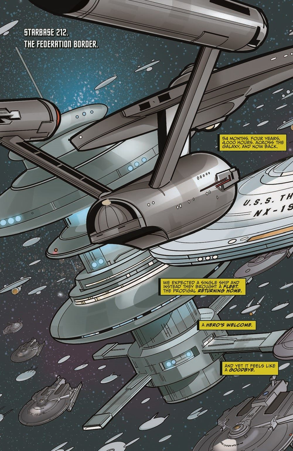 ST_YearFive_Vol3_pr-5 ComicList Previews: STAR TREK YEAR FIVE VOLUME 3 WEAKER THAN MAN TP