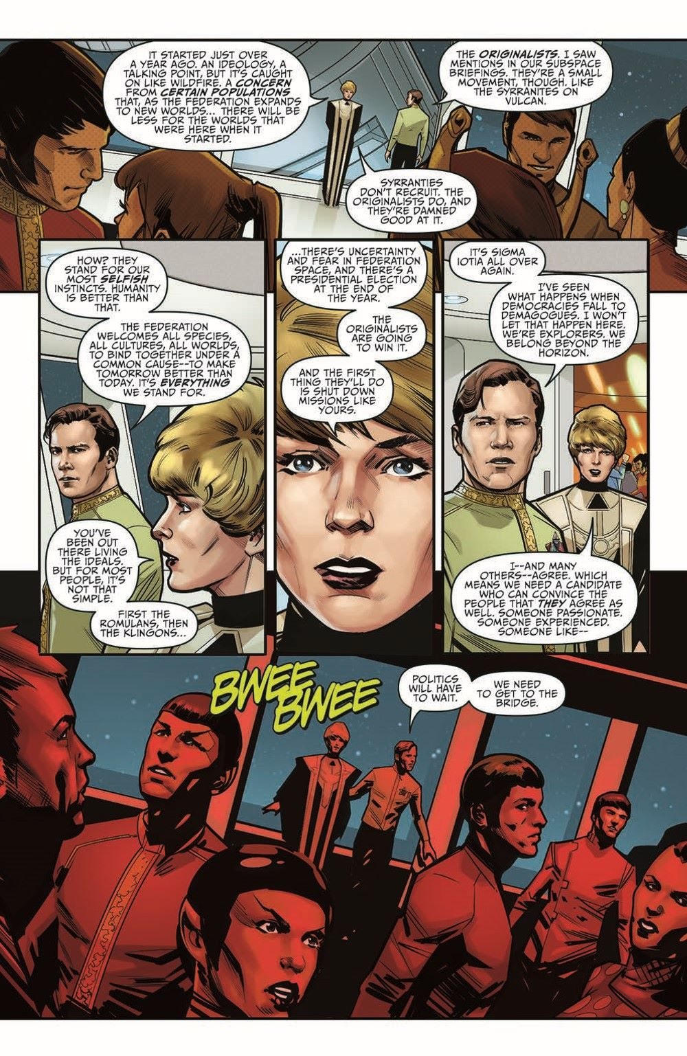 ST_YearFive_Vol3_pr-8 ComicList Previews: STAR TREK YEAR FIVE VOLUME 3 WEAKER THAN MAN TP