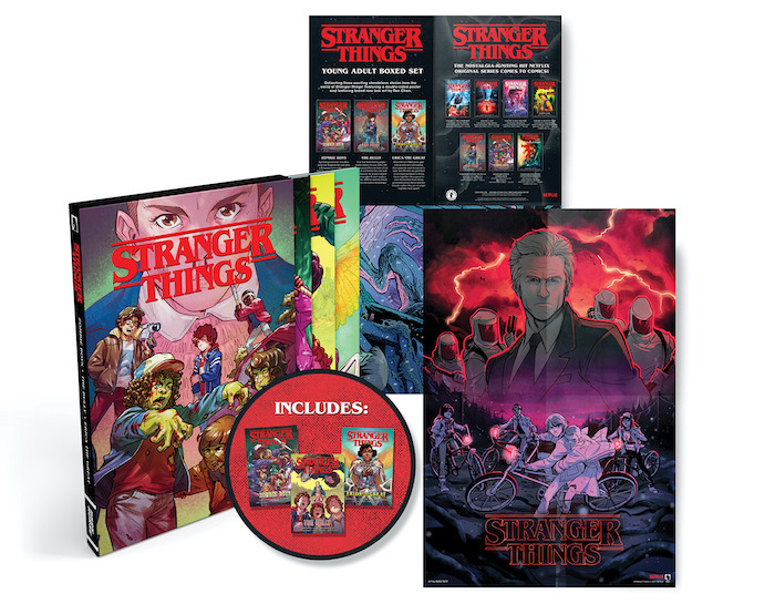 STbox The Dark Horse STRANGER THINGS publishing line is growing