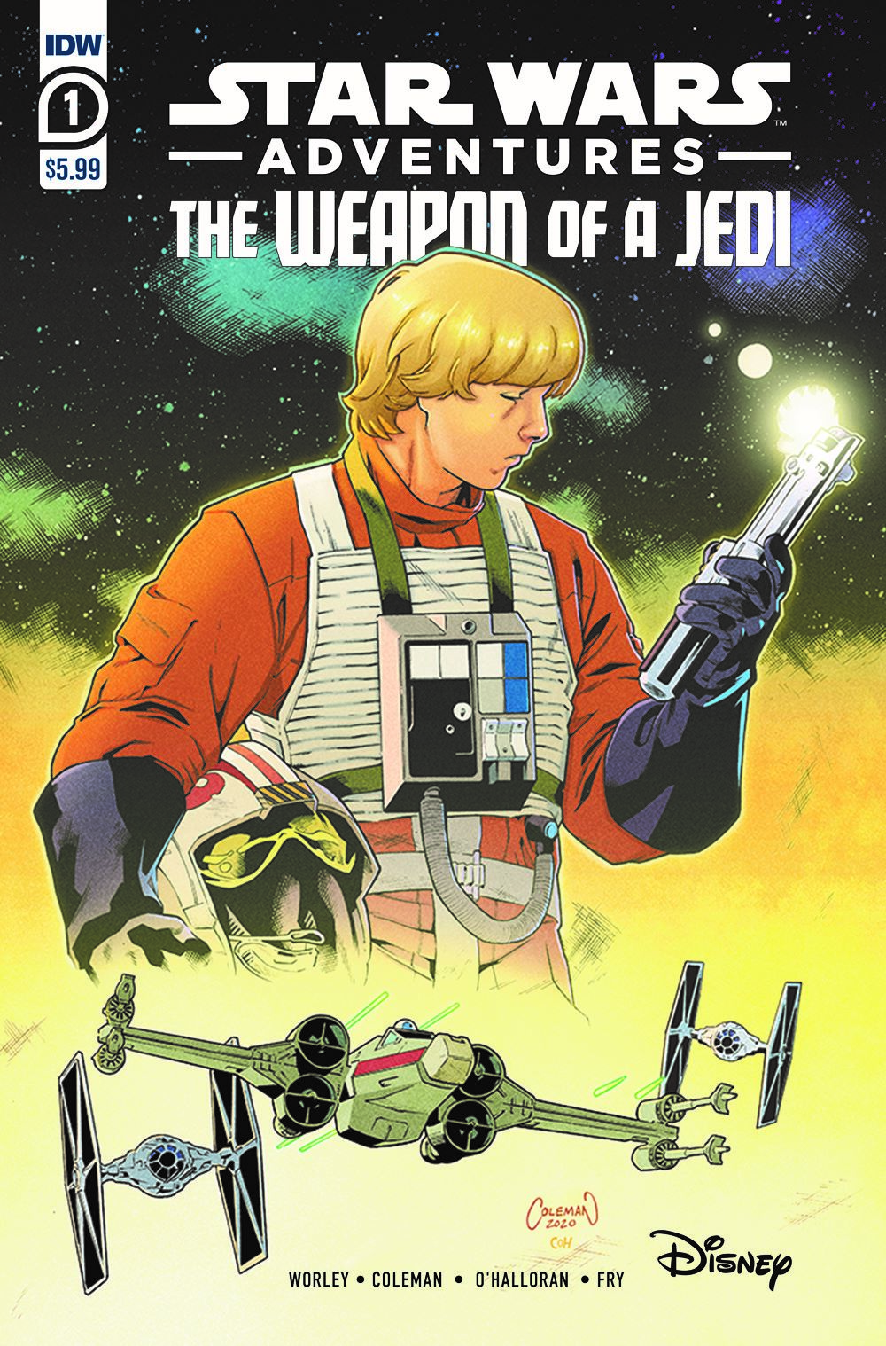 SWAWeaponofaJedi01-A ComicList Previews: STAR WARS ADVENTURES THE WEAPON OF A JEDI #1 (OF 2)