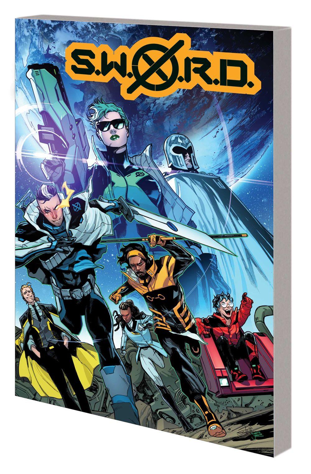 SWORD_VOL_1_TPB Marvel Comics August 2021 Solicitations