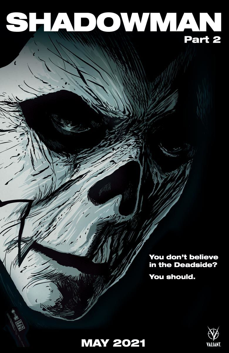 Shadowman_02_HorrorCover ComicList: Valiant Entertainment New Releases for 05/26/2021