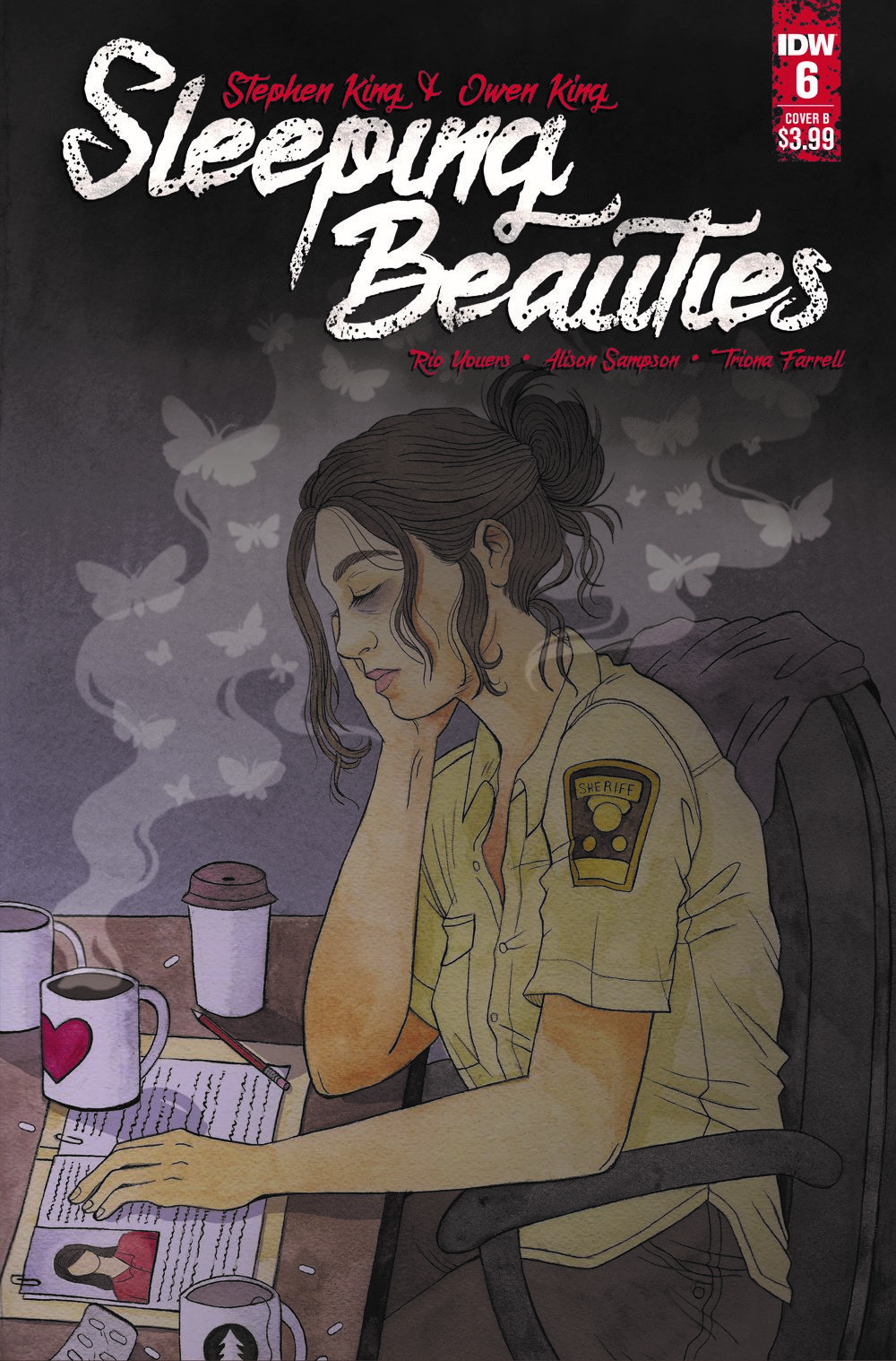 SleepingBeauties_06_CVR_B-2 ComicList: IDW Publishing New Releases for 05/19/2021
