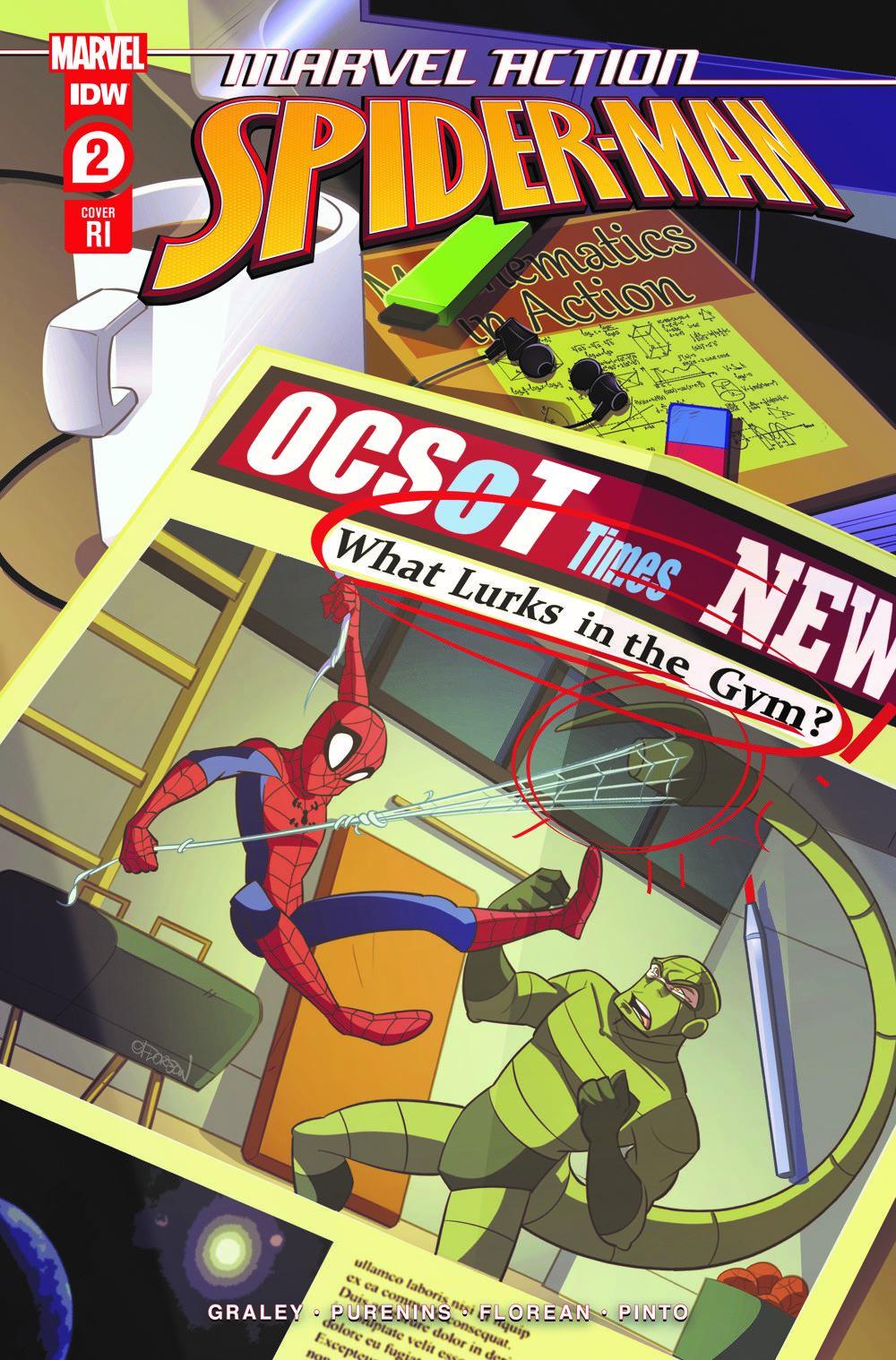 SpidermanV3-02_cvrRI ComicList: IDW Publishing New Releases for 05/12/2021
