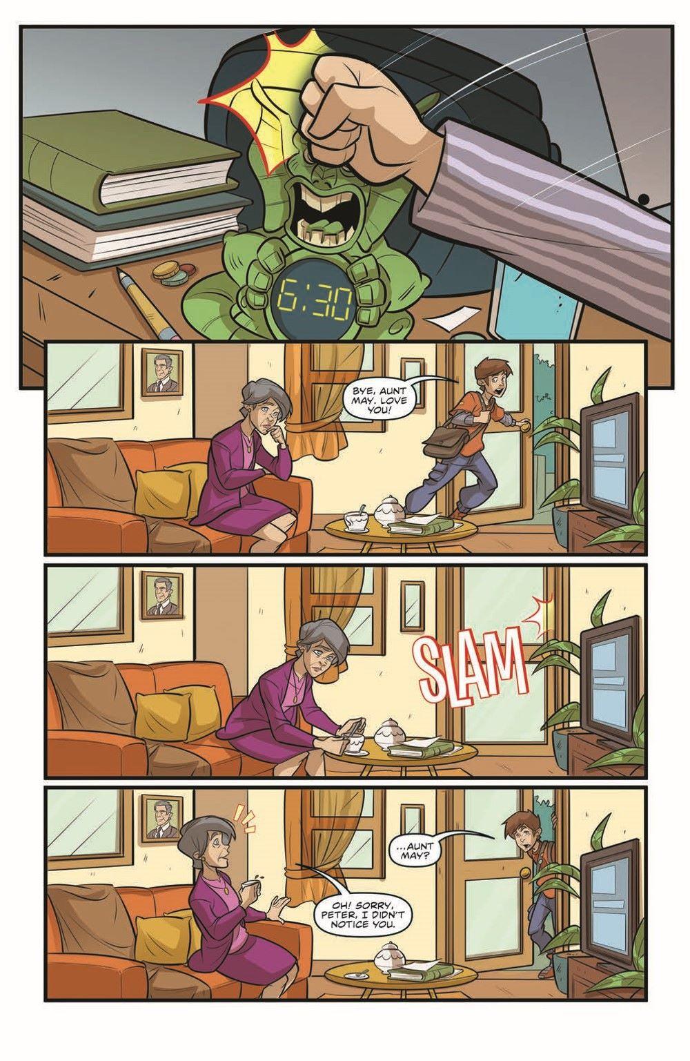 SpidermanV3-02_pr-3 ComicList Previews: MARVEL ACTION SPIDER-MAN VOLUME 3 #2