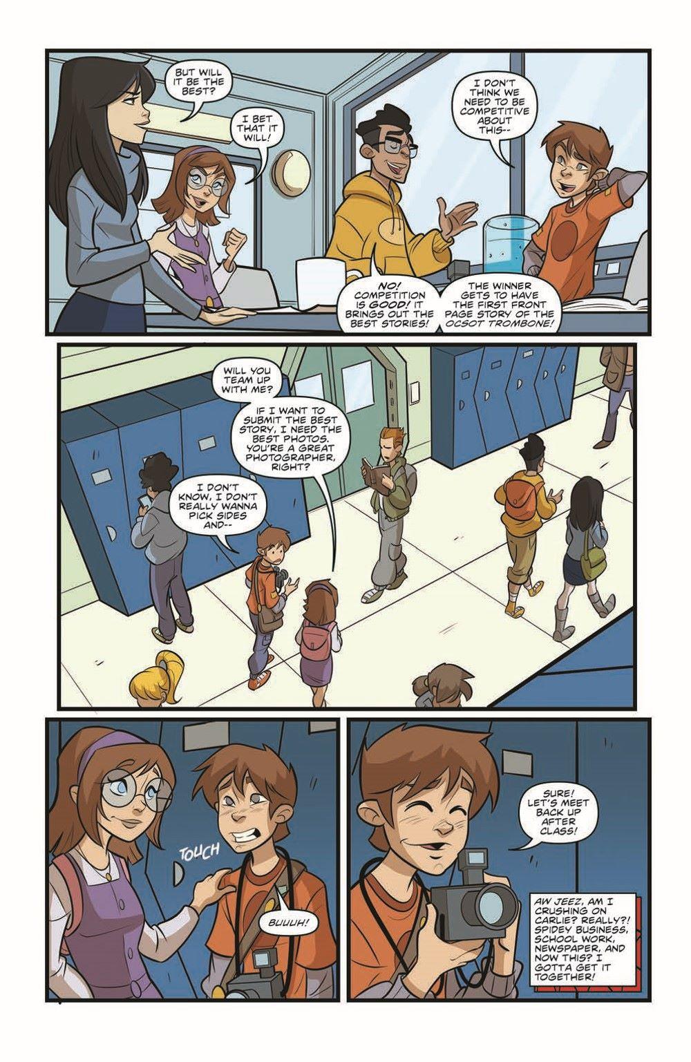 SpidermanV3-02_pr-7 ComicList Previews: MARVEL ACTION SPIDER-MAN VOLUME 3 #2