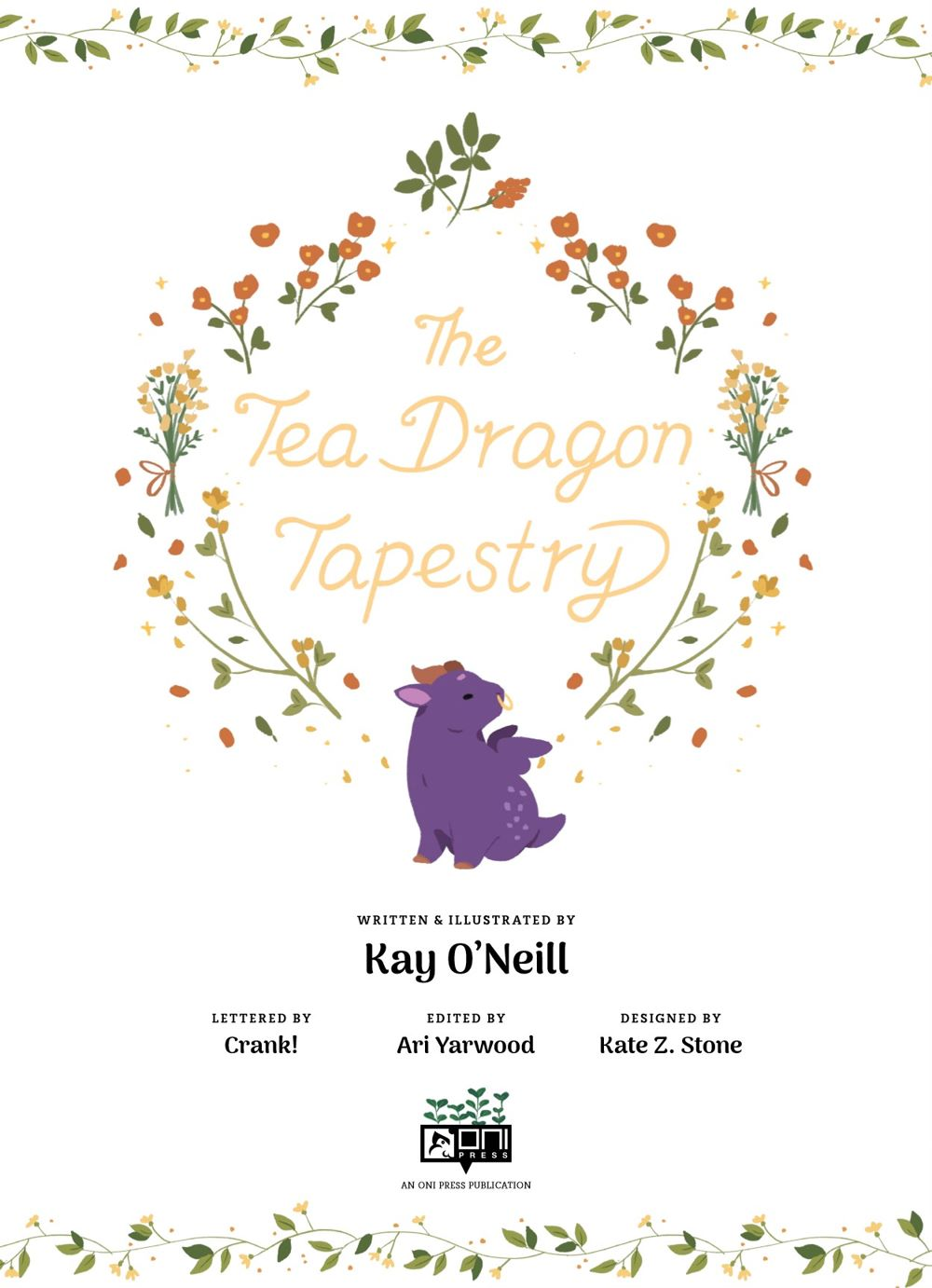 TEADRAGONTAPESTRY-REFERENCE-004 ComicList Previews: THE TEA DRAGON TAPESTRY HC