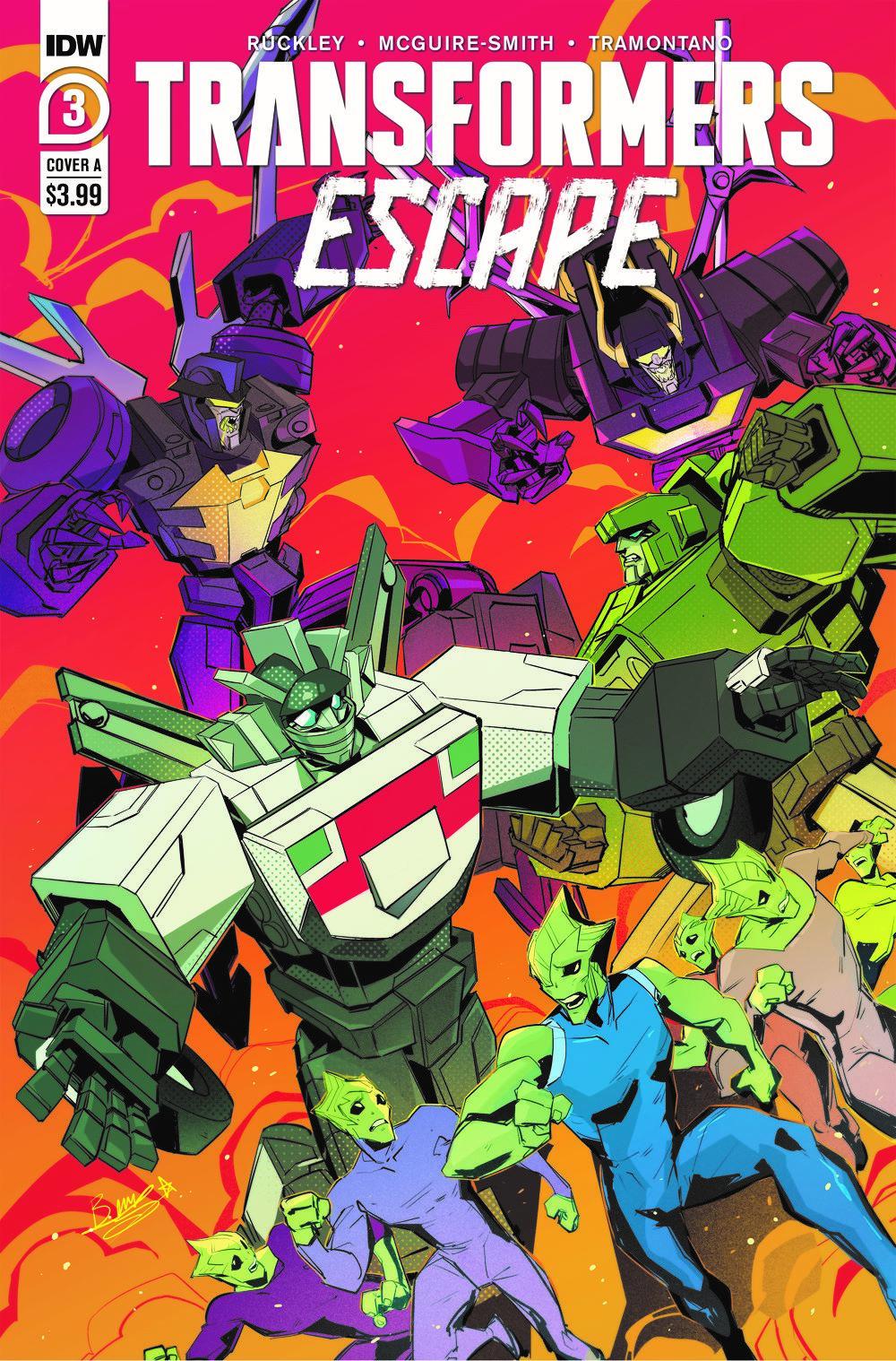 TFEscape03-Cover-A ComicList Previews: TRANSFORMERS ESCAPE #3 (OF 5)