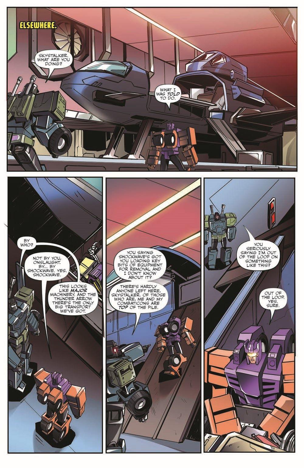 TFEscape03-pr-7 ComicList Previews: TRANSFORMERS ESCAPE #3 (OF 5)