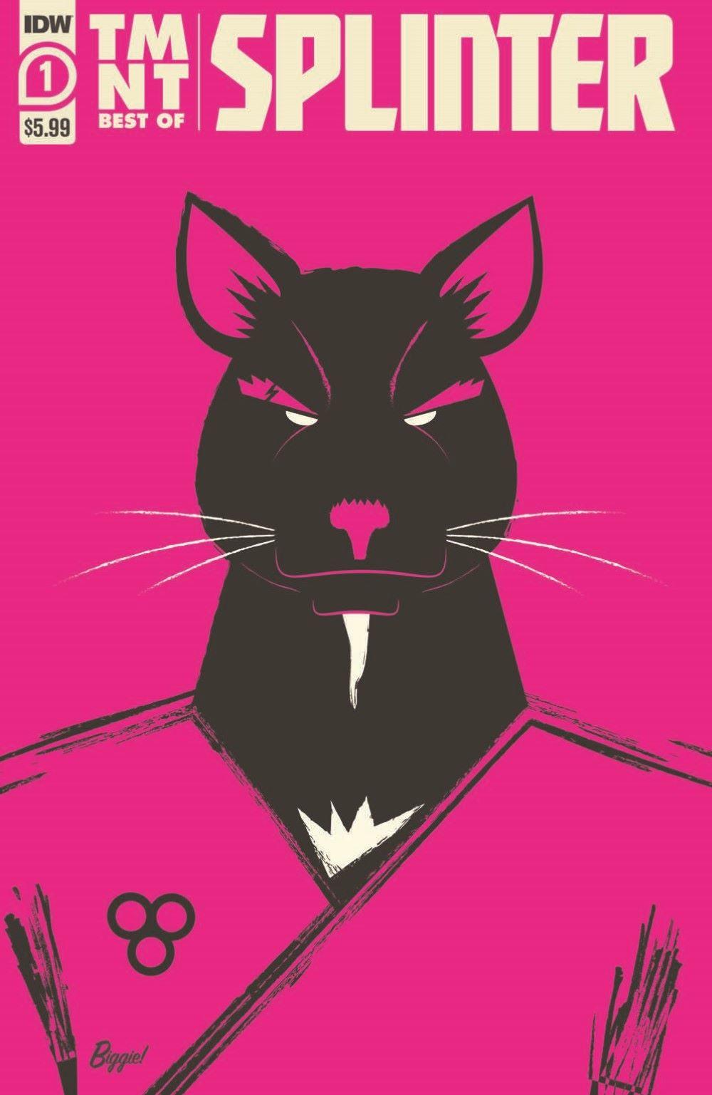TMNT-Bestof-Splinter_pr-1 ComicList Previews: TEENAGE MUTANT NINJA TURTLES BEST OF SPLINTER #1