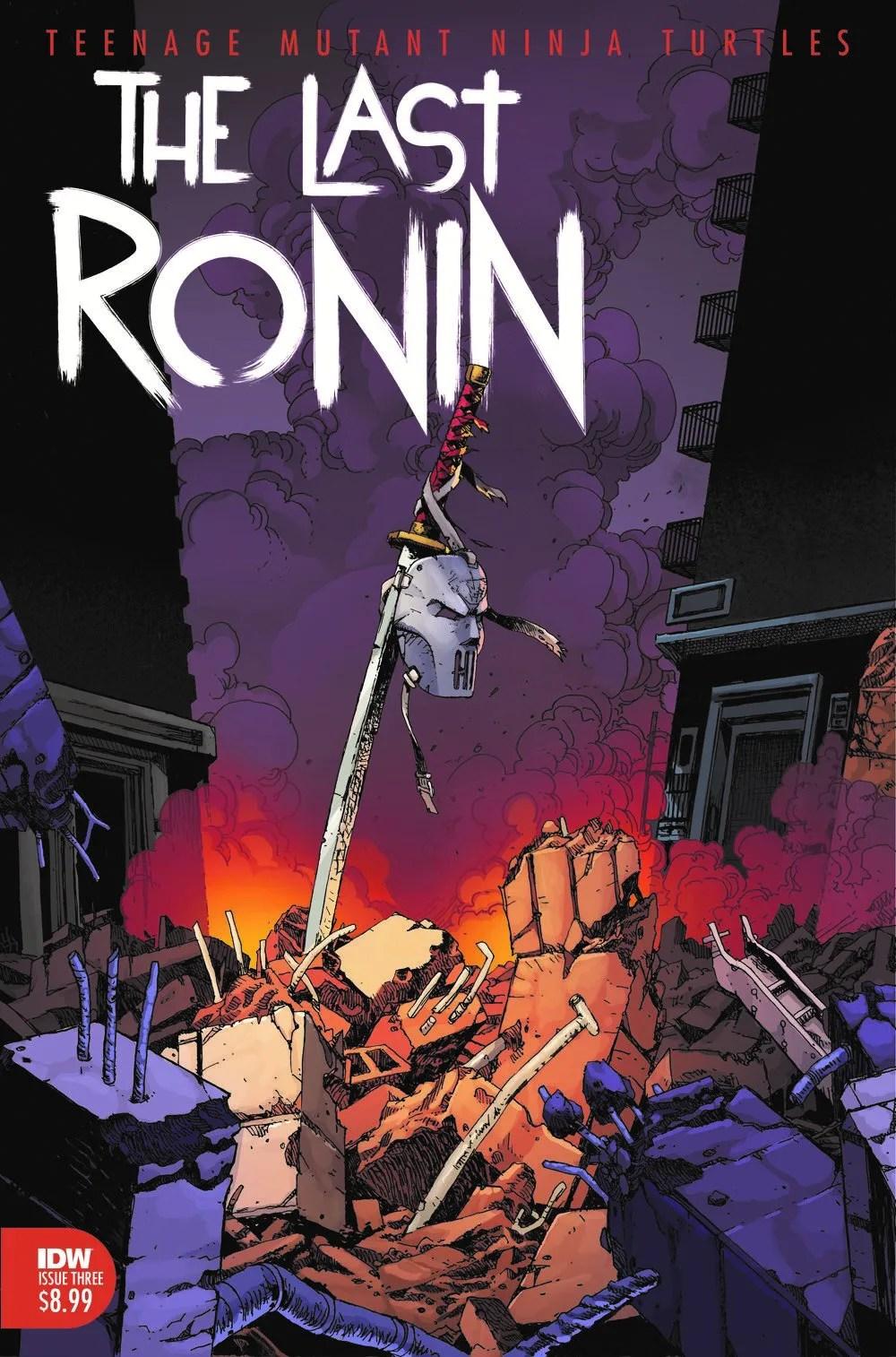 TMNT-LastRonin03_cvrA ComicList Previews: TEENAGE MUTANT NINJA TURTLES THE LAST RONIN #3 (OF 5)