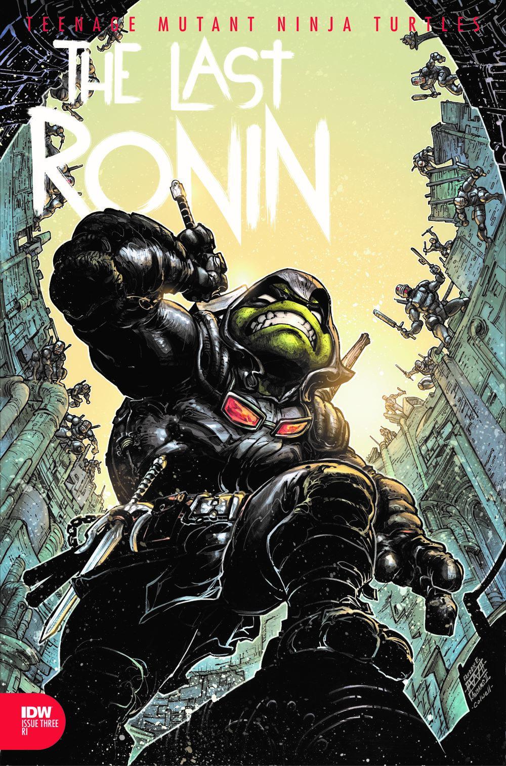 TMNT-LastRonin03_cvrRI ComicList Previews: TEENAGE MUTANT NINJA TURTLES THE LAST RONIN #3 (OF 5)