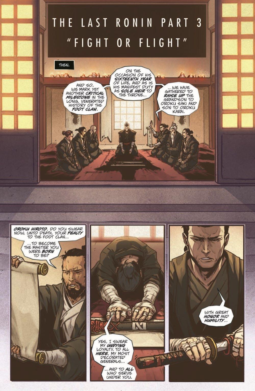 TMNT-LastRonin03_pr-3 ComicList Previews: TEENAGE MUTANT NINJA TURTLES THE LAST RONIN #3 (OF 5)